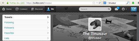 We've got a Twitter