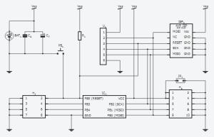 Tinusaur prototype schematics