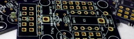 Tinusaur PCB from OSHPark