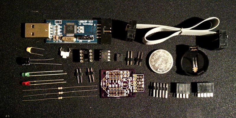 Tinusaur Starter Kit for Beginners Parts