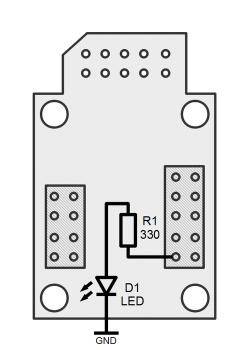 Tinusaur Tutorial 001 schematics