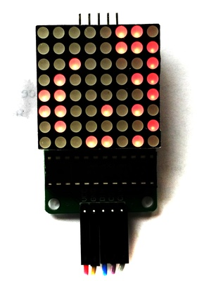 MAX7219 LED 8x8 Conway's Game of Life