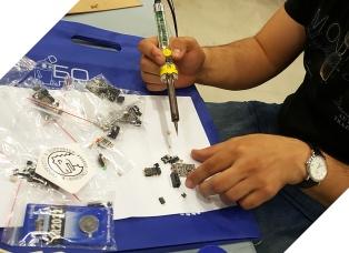 Tinusaur Board Assembling Diman Mihnev