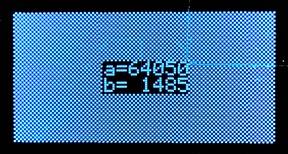 ssd1306xled sample screen