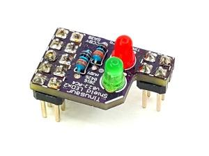 Tinusaur Shield LEDx2