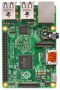 Raspberry Pi 2 Model B v1.1 top new