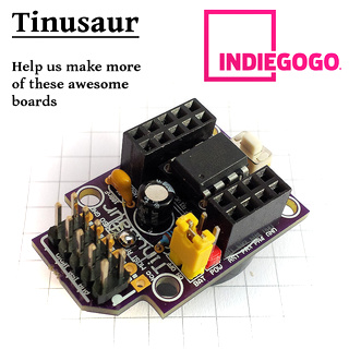 Tinusaur Project Crowdfunding Indiegogo