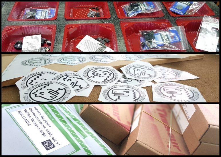 Tinusaur Indiegogo Campaign Packaging and Shipping