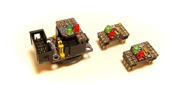 Board and Shield LEDx2