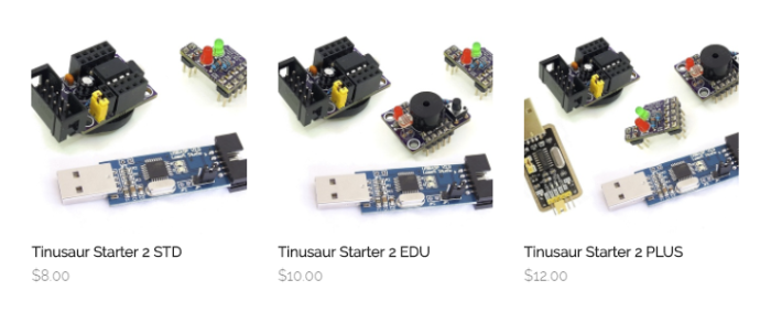 The Tinusaur Online Store