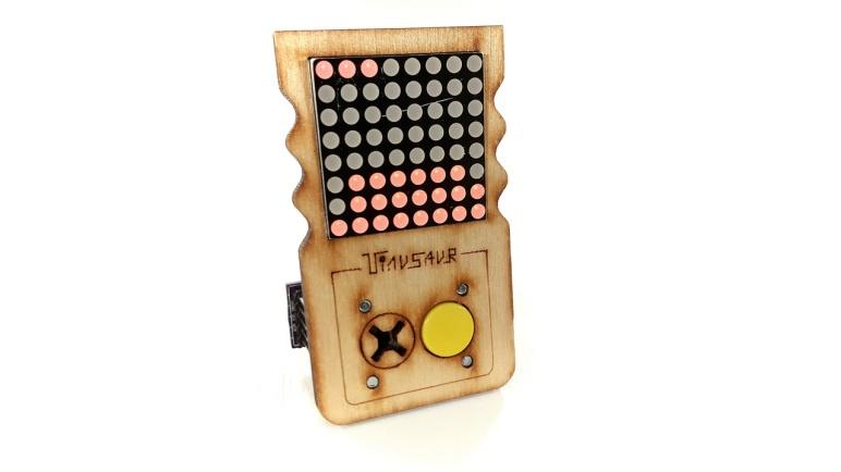 GAMETINU - Small Game Platform, Powered by the Tinusaur - ATtiny85 Microcontroller Board