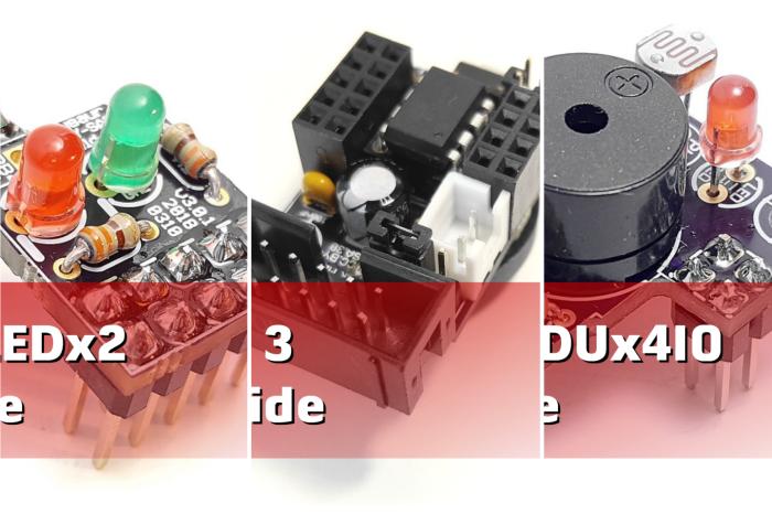 Main Board Shields LEDx2 EDUx4IO