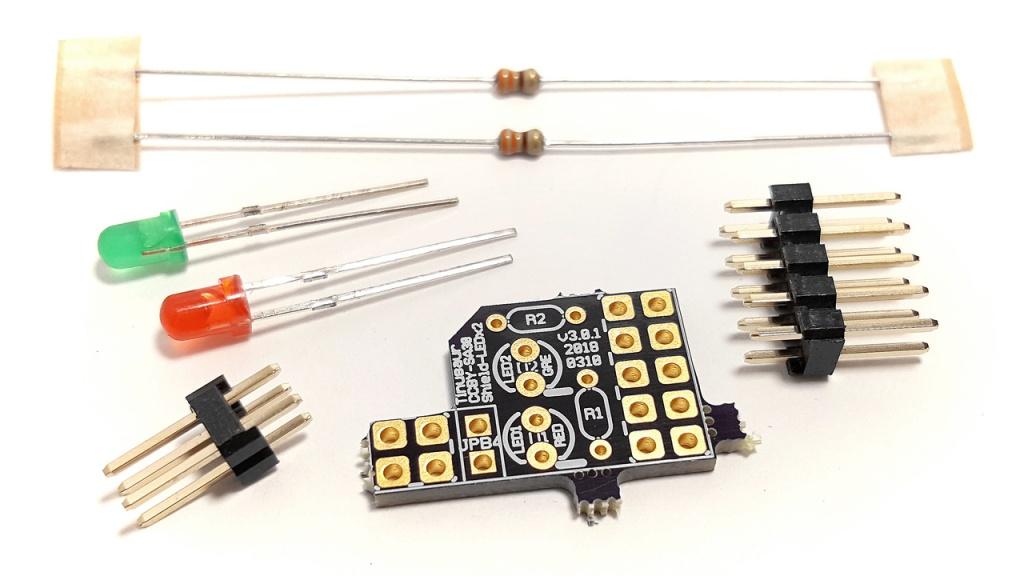 Shield LEDx2 Parts