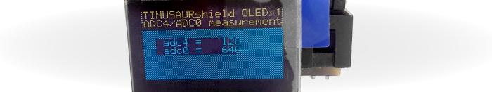 Tinusaur OLED SSD1306xLED