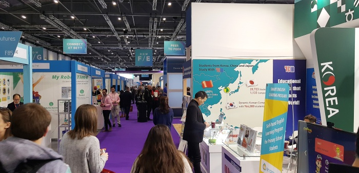 Meet Tinusaur team at BETT show London ExCeL