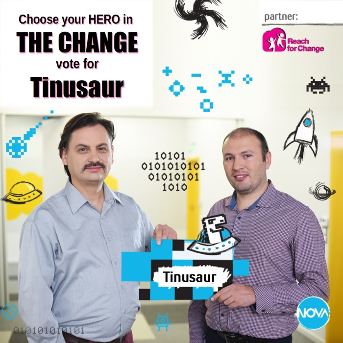 Tinusaur The Change Competition